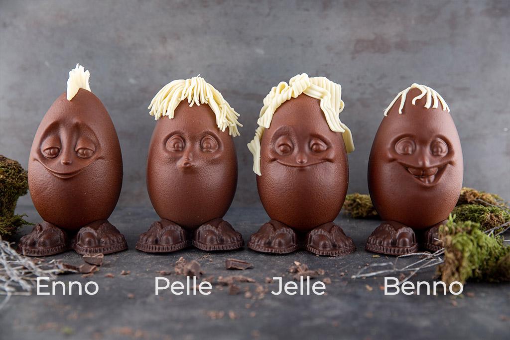 Die pfiffigen Eier